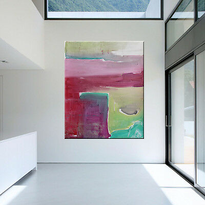 LARGE CONTEMPORARY ORIGINAL MODERN ABSTRACT CANVAS PAINTING WALL ART.. Libby Emi