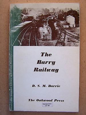 """the Barry Railway."" Oakwood Press No.57."" Trains Book."