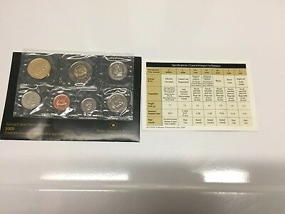 2005 Canada Special Edition Uncirculated Set Royal Canadian Mint RCM Mint Set NR