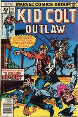 Kid Colt Outlaw #221 in Very Fine - condition. FREE bag/board