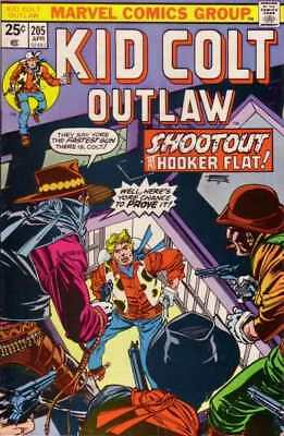 Kid Colt Outlaw #205 in Very Fine - condition. FREE bag/board