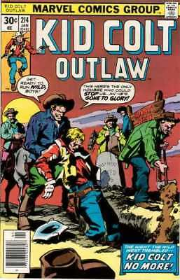 Kid Colt Outlaw #214 in Very Fine - condition. FREE bag/board