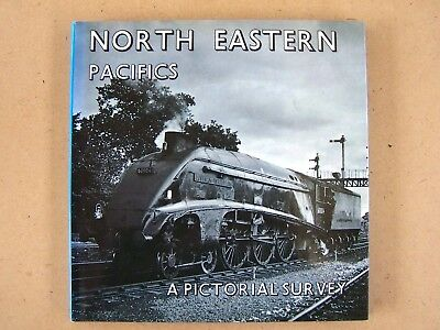 North Eastern Pacifics. Steam Locomotives. Railways Book.