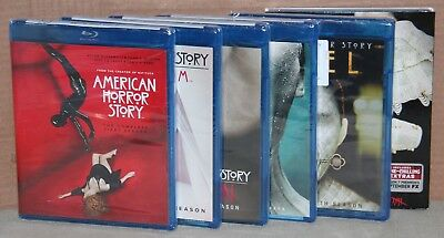 American Horror Story: Various Seasons (Blu-ray) Brand New, Factory Sealed
