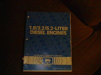 1981  The Chevrolet Productivity Network Pro Tech  Technical Bulletins Diesel En
