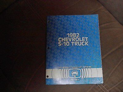 1981  The Chevrolet Productivity Network Pro Tech  Technical Bulletins S-10