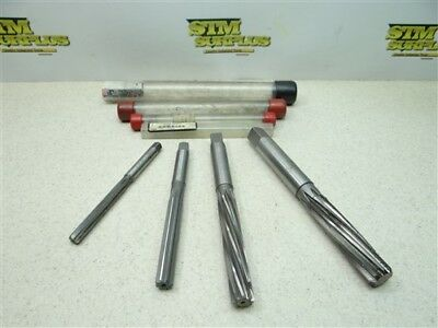 "4Pc Hss Hand Expansion Reamers 3/8"", 1/2"", 5/8"" & 3/4"" M.r.&t. A-P Poland"