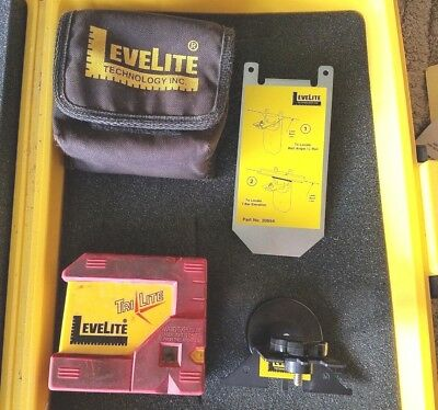 Leverlite  Tri-lite Level, Three Way, Self-Leveling, right angle and Plumb Laser