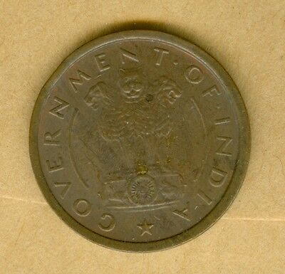 India 1952 Pice--Circulated