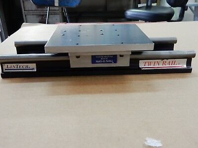 Linear positioning stage, ball bushing pillow blocks, guide rails