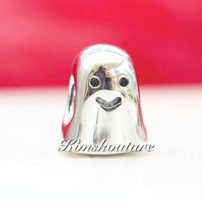 Authentic Pandora Sterling Silver Ghost Charm 790202
