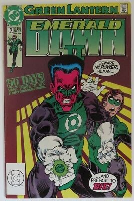 1991 Green Lantern Emerald Dawn Ii #3  -   Vg                      (Inv15895)