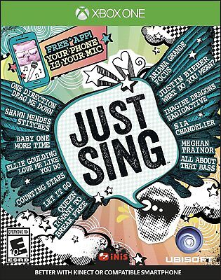 Just Sing (Microsoft Xbox One, 2016) BRAND NEW