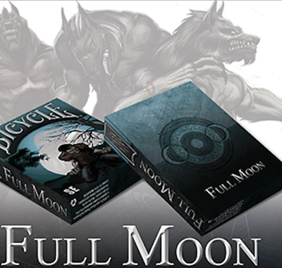 Bicycle Werewolf Full Moon Playing Cards (Standard Edition) from Murphy's Magic