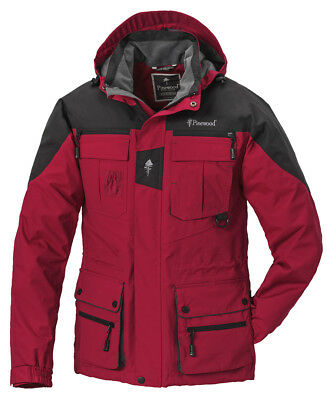 Tolle Pinewood Dog Sports Outdoor Jacke für Hundesportler unisex, Rot, Gr. L