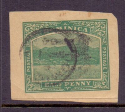 Dominica  1907/20  Roseau, imperf, used.