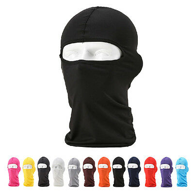 Motorcycle Ski Full Face Mask Cycling Outdoor Balaclava Lycra Neck Ultra Hat