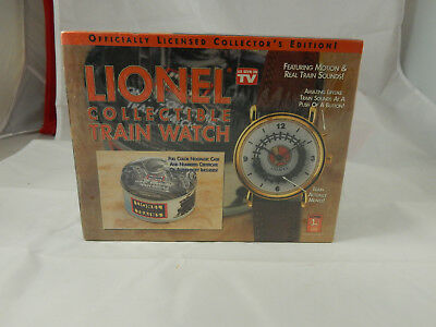 Lionel Collectible Train Watch New In Box As Seen On Tv-Motion & Train Sounds