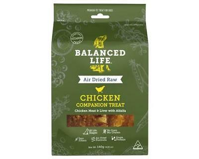 Balanced Life - Air Dried Raw Chicken Dog Treats Pet Supplies