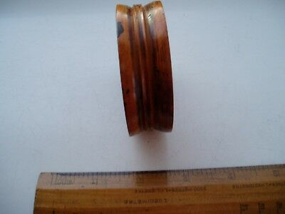 Antique  Boxwood Apothecary's Double Sided Pill Roller