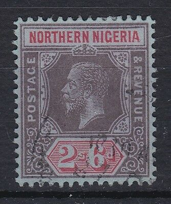 Northern Nigeria 2/6 Gv 1912 Mca Sg 49 Fine Used Cat £55