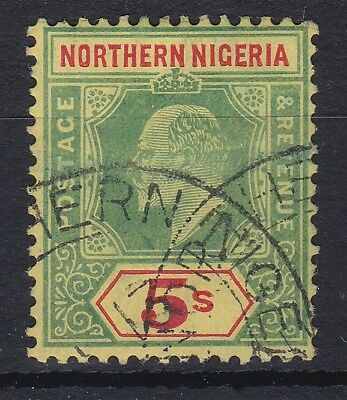 Northern Nigeria 1911 Mca 5/ Sg 38 Fine Used Cat £75