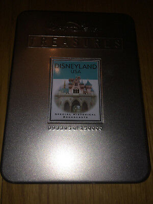 Disneyland Special Historical Broadcasts - set of 2 in commemorative tin