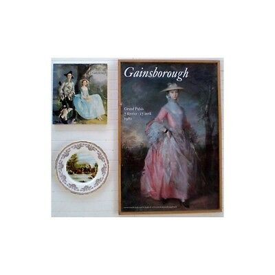 Thomas GAINSBOROUGH Exposition au Grand Palais Catalogue Affiche & Assiette 1981