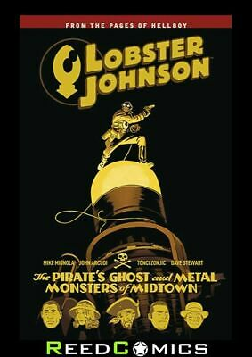 LOBSTER JOHNSON VOLUME 5 PIRATES GHOST GRAPHIC NOVEL Collects Both 3 Part Series