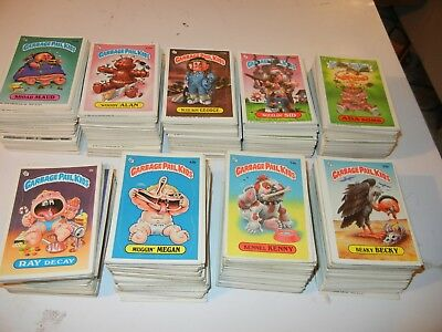 Garbage Pail Kids Topps USA about 850 cards low to high grade 38  first series