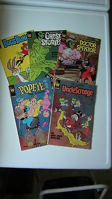 COMIC BOOKS - Western Publishing Corp. - FIVE TOTAL, one price for all five!