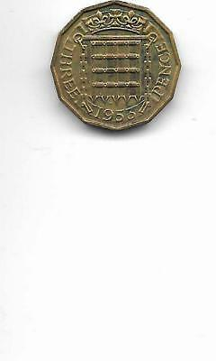 1953  Great Britain   3 Pence  Proof