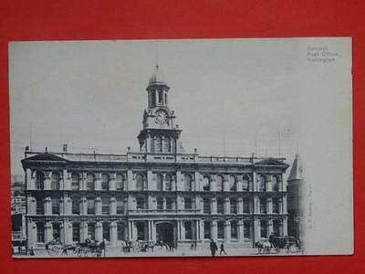 NEW ZEALAND Wellington General post Office old postcard