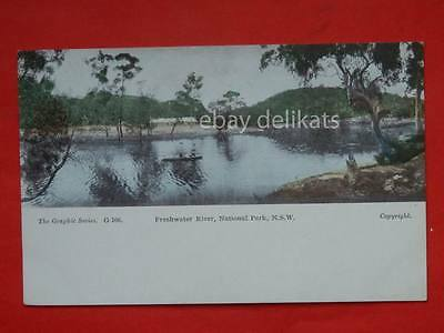 AUSTRALIA Freshwater River National Park N.S.W. old postcard