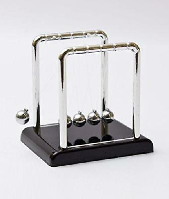 Perpetual Motion Toy Newtons Cradle Physics Steel Ball Kinetic Office Desk Top