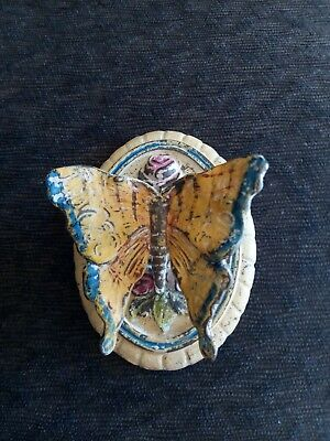 Antique Rosa May Pickard Milmetter Ill Butterfly Door Knocker May 11 1926