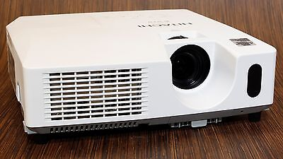 Hitachi Cp-X2010 2200 Lumen Xga Hd Portable Lcd Projector - 0Hr Lamp - Low Use!