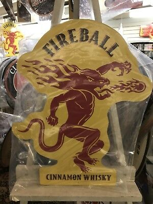 Fireball Whiskey Sign