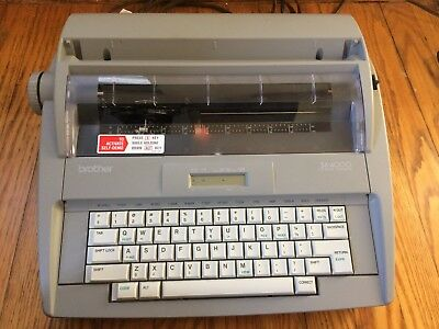 Brother SX 4000 Word Processor Electronic Typewriter