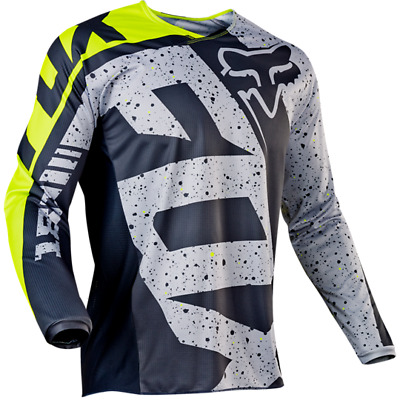 Fox Racing MX 180 Nirv Jersey Adult Black/Yellow