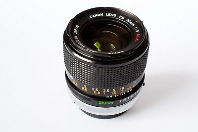 Canon Fd  35mm f 2  SSC