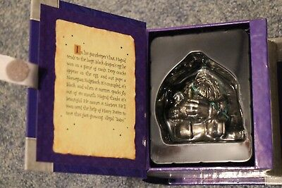 Hallmark Keepsake Harry Potter Hagrid and Norbert The Dragon Ornament Pewter