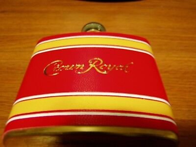 Crown Royal Collector Flask 8oz Tailgate Edition Brand New FREE S&H