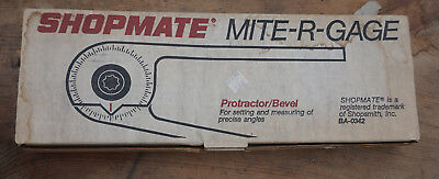 Shopsmith Mite-R-Gage Shopmate Protractor/Angle Layout Tool