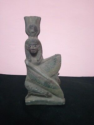 RARE ANTIQUE ANCIENT EGYPTIAN Statue of Isis 380–362 Bc