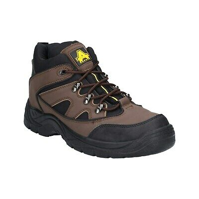 Amblers FS152 Safety Mens Brown Steel Toe Cap Industrial Work Boots Shoes UK4-13