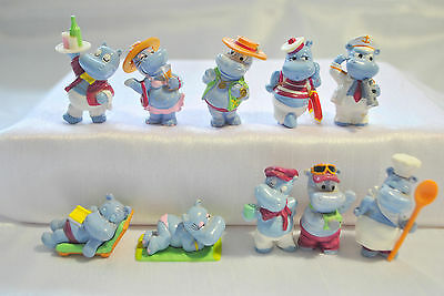 Kinder Ferrero Surprise Serie Completa Hippo Holiday Cruise +1 Cartina (Eu) Rar