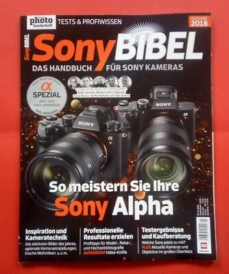 Digital Photo Sonderheft Sony Bibel 2018 ungelesen