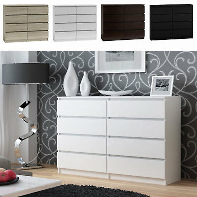 kommode anrichte sideboard 5 schubladen kiefer massiv. Black Bedroom Furniture Sets. Home Design Ideas