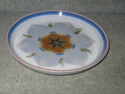 DENBY/LANGLEY CHATSWORTH TEA PLATE (pale shading)